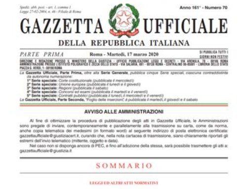 Sospesi sfratti e licenziamenti D.L. Cura Italia